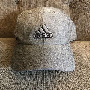 grey adidas hat